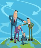 Blame Game Concept. People pointing each other, Blame Game Concept stock illustration
