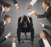 Blame at work Royalty Free Stock Photography