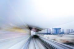 Blanc à grande vitesse de Tokyo Photos libres de droits