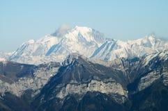 blanc Γαλλία mont Στοκ Εικόνα