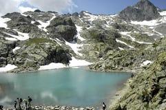blanc湖 库存照片