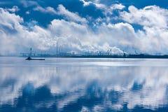 blanc 2008 de mer de la Russie d'arkhangelsk Photos stock