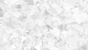 Blanc abstrait et Gray Modern Background Photographie stock libre de droits