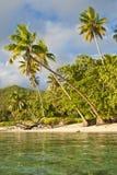 blanc arénacé de plage photographie stock libre de droits
