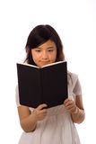blanc asiatique d'adolescent Photo stock