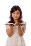 blanc asiatique d'adolescent Photographie stock libre de droits