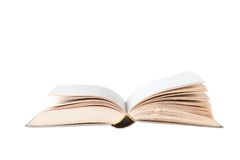 Blanc Book Openned Stock Photos