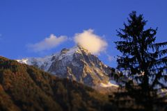 blanc chamonix mont στοκ φωτογραφίες με δικαίωμα ελεύθερης χρήσης