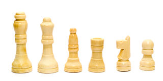blanc d'échecs Image stock