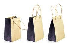 blanc d'achats de vente de papier d'oncept d'isolement par sac Images stock