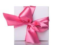 blanc d'image de cadeau du cadre 3d Images stock
