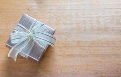 blanc d'image de cadeau du cadre 3d Photographie stock libre de droits