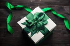 blanc d'image de cadeau du cadre 3d Image stock