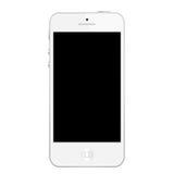 Blanc d'Iphone 5 photographie stock