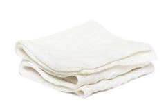 blanc d'isolement d'écharpe de dames photo stock