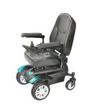 blanc d'isolement de fauteuil roulant Image stock