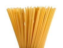 blanc d'isolement de pâtes Image stock