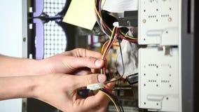 blanc d'isolement de tournevis de réparation d'infographie d'adaptateur banque de vidéos
