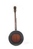 blanc d'isolement par banjo arrière de fond Photo libre de droits
