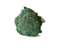 blanc d'isolement par broccoli de fond Images libres de droits