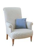 blanc d'isolement par fauteuil Image libre de droits