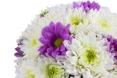 blanc d'isolement par fleur de bouquet Image stock
