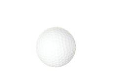 blanc d'isolement par golf de bille Photographie stock