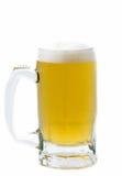 blanc d'objet de bière de fond Image libre de droits