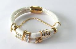 Blanc de bracelet Image libre de droits
