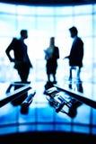 blanc de bureau de durée de fond d'image 3d Image libre de droits