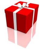 blanc de cadeau de cadre Image stock