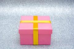 blanc de cadeau du boxe 3d Photos libres de droits