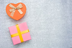 blanc de cadeau du boxe 3d Photographie stock libre de droits