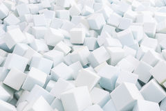 Blanc de caoutchouc mousse Photographie stock