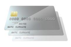 Blanc de carte bancaire  Photo stock