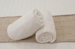 Blanc de chambre à coucher Image stock