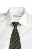 blanc de chemise Photo stock