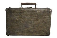 blanc de cru de valise de fond photographie stock libre de droits