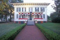 ½ blanc de ¿ de Houseï de ½ de ¿ d'ï premier pour des confédérés à Montgomery, Alabama Photographie stock libre de droits
