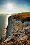 blanc de Douvres de falaises Photographie stock