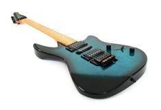 blanc de guitare électrique de fond Image libre de droits