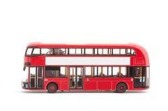 blanc de jouet d'isolement par bus Photo libre de droits