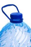 blanc de l'eau d'isolement par bouteille Photos libres de droits