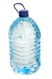 blanc de l'eau d'isolement par bouteille Photographie stock