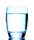 blanc de l'eau d'isolement par glace Image stock