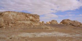 blanc de l'Egypte de désert Image libre de droits