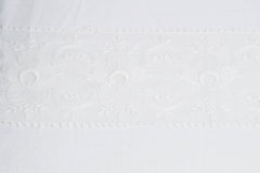 blanc de lacet de fond photo stock