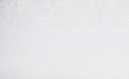 blanc de lacet de fond Image libre de droits