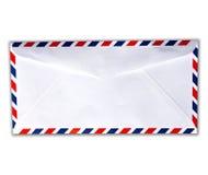Blanc de lettre d'envelopemnt Image libre de droits