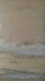 blanc de marbre et jaune légers Photographie stock